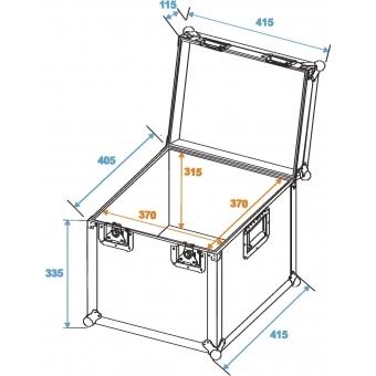 ROADINGER Universal Transport Case heavy 40x40cm #2
