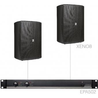 FESTA8.2E/B - Medium Foreground Set 2x Xeno8 + Epa502 - Black