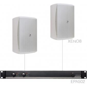 FESTA8.2E/W - Medium Foreground Set 2x Xeno8 + Epa502 - White