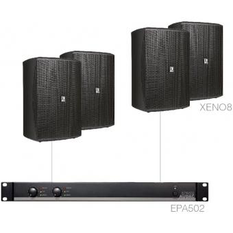 FESTA8.4E/B - Medium Foreground Set 4x Xeno8 + Epa502 - Black