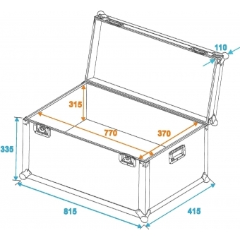 ROADINGER Universal Transport Case heavy 80x40cm #2