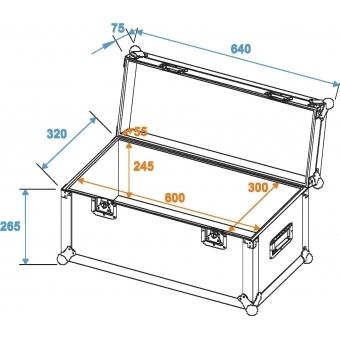 ROADINGER Universal Case Pro 60x30x30cm #5