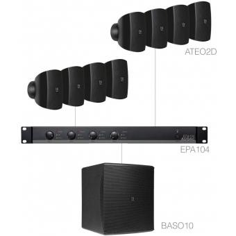 SUBLI2.9E/B - Compact Background Set 8x Ateo2d & Baso10 & Epa104 - Black