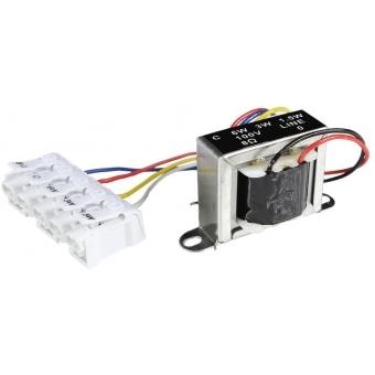 TR1006F - 100v Audio Line Transformer - 6w/3w/1.5w & 8 Ohm + Fastcon