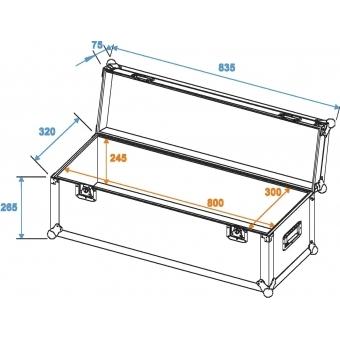 ROADINGER Universal Case Pro 80x30x30cm #2