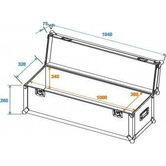 ROADINGER Universal Case Pro 100x30x30cm #2