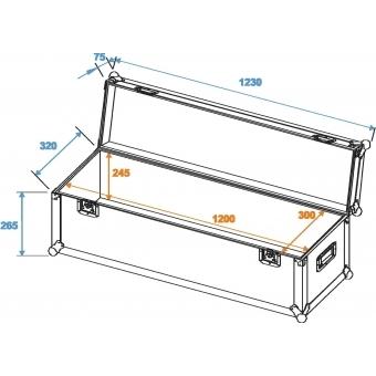 ROADINGER Universal Case Pro 120x30x30cm #2