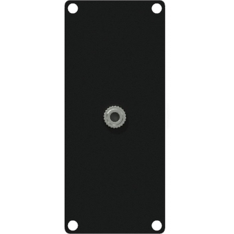 CASY135/B - Casy 1 Space With 3.5mm Jack Gender - Black