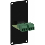 CASY136/B - Casy 1 Space With 3.5mm Jack To 3-pin Tb - Black