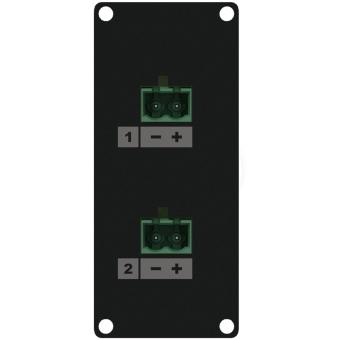 CASY148/B - Casy 1 Space Speaker Level 2 X 2-pin Tb To 2-pin Tb - Black