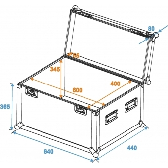 ROADINGER Universal Case Pro 60x40x40cm #5