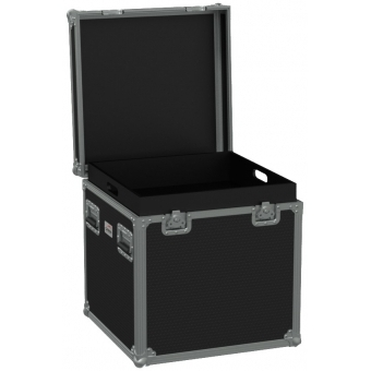 FCE066H/B - Flight Case Euro 600x600x620mm With Hinge Cover - Black #4