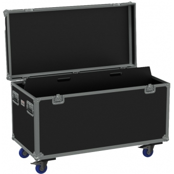 FCE126H/B - Flight Case Euro 1200x600x620mm With Hinge Cover - Black #3