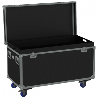FCE126H/B - Flight Case Euro 1200x600x620mm With Hinge Cover - Black #5