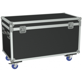 FCE126H/B - Flight Case Euro 1200x600x620mm With Hinge Cover - Black