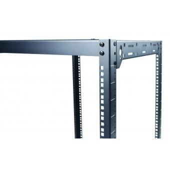 "OPR506/B - Wall Mounted 19"" Open Frame Rack - 6 Unit - 500mm #2"