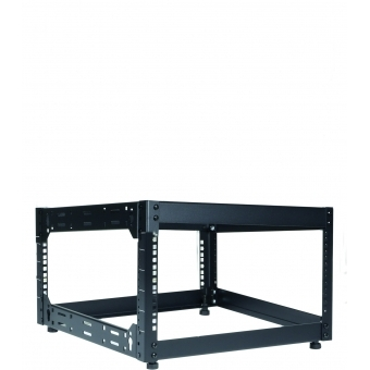 "OPR506/B - Wall Mounted 19"" Open Frame Rack - 6 Unit - 500mm"