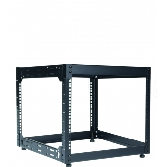 "OPR509/B - Wall Mounted 19"" Open Frame Rack - 9 Unit - 500mm"
