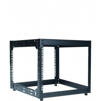 "OPR509/B - Wall Mounted 19"" Open Frame Rack - 9 Unit - 500mm"