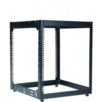 "OPR512/B - Wall Mounted 19"" Open Frame Rack - 12 Unit - 500mm"