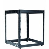 "OPR512/B - Wall Mounted 19"" Open Frame Rack - 12 Unit - 500mm"