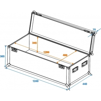 ROADINGER Universal Case Pro 120x40x40cm #2