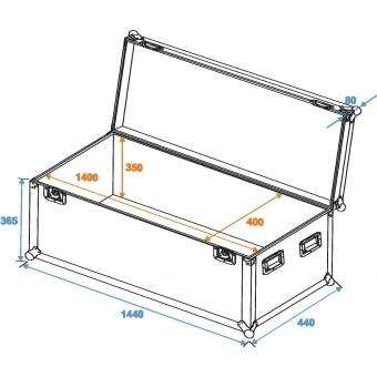 ROADINGER Universal Case Pro 140x40x40cm #2