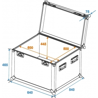 ROADINGER Universal Case Pro 60x50x50cm #2
