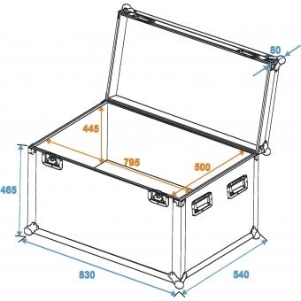 ROADINGER Universal Case Pro 80x50x50cm #2