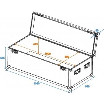 ROADINGER Universal Case Pro 100x50x50cm #2