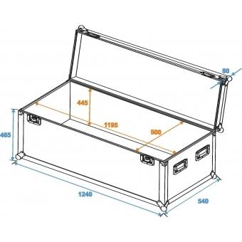 ROADINGER Universal Case Pro 120x50x50cm #2