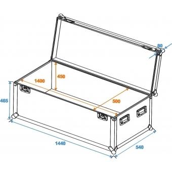 ROADINGER Universal Case Pro 140x50x50cm #2