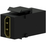 VCK452/B - Keystone Adapter Hdmi A F To Hdmi A F - Black