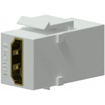VCK452/W - Keystone Adapter Hdmi A F To Hdmi A F - White