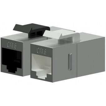 VCK510/S - Keystone Adapter Cat6 Rj45 To Rj45 - Shielded