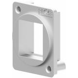 VDK10/S - D-size Keystone Adapter - Silver