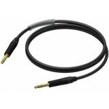 PRA610/3 - Jack Male Stereo - Jack Male Stereo - 3m - Neutrik - Black