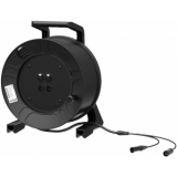 PRX222/50 - Cable Reel With Stereo Bal Cable - 0.22mm²/24awg - 50m