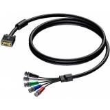 CAV118/5-H - Cable Svga Male-5x Bnc Male-5m