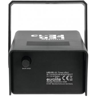 EUROLITE LED FE-13 Battery-Powered Flower Effect #3