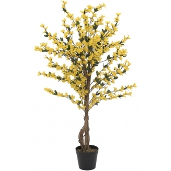 EUROPALMS Forsythia tree with 4 trunks, yellow, 120 cm