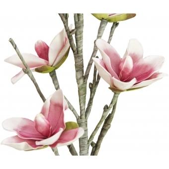 EUROPALMS Magnolia branch (EVA), white pink #2