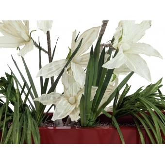 EUROPALMS Clematis Branch (EVA), white #4