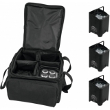 EUROLITE Set 4x AKKU UP-4 QCL Spot + SB-4 Soft-Bag