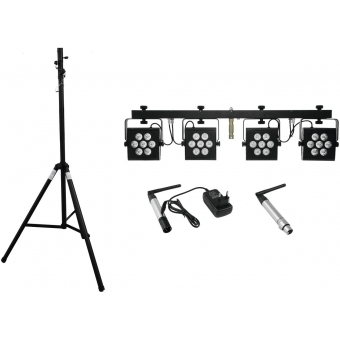 EUROLITE Set LED KLS-2500 + transmitter + receiver + STV-40-WOT
