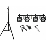 EUROLITE Set LED KLS-2500 + transmitter + receiver + STV-40-WOT