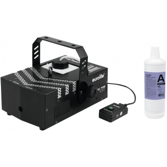 EUROLITE Set Dynamic Fog 700 + Smoke fluid -A2D- 1l