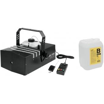 EUROLITE Set Dynamic Fog 1200 + Smoke fluid -B2D- 5l