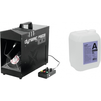 EUROLITE Set Dynamic Faze 700 + Smoke fluid -A2D- 5l