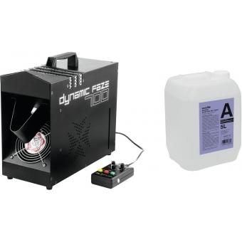 EUROLITE Set Dynamic Faze 700 + Smoke fluid -A2D- 5l